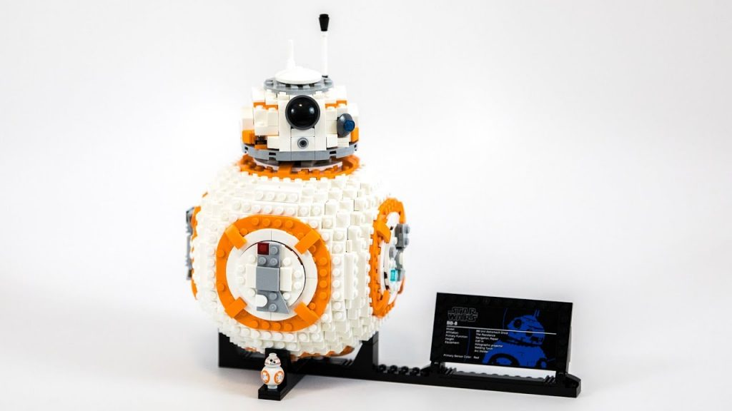 LEGO Star Wars UCS BB-8 (Timelapse & Review) – Set 75187