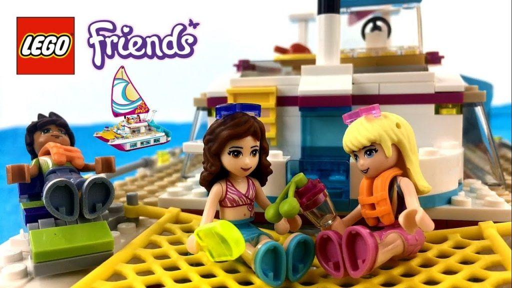 LEGO Friends Sunshine Catamaran 41317 Stephanie Olivia Liam || KTB