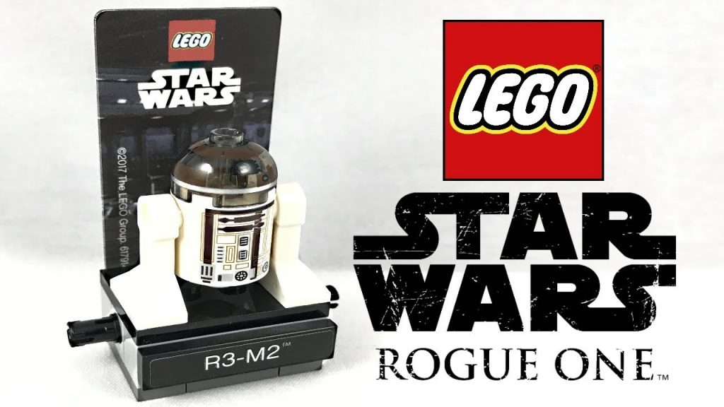 LEGO Star Wars Rogue One R3-M2 polybag review! 2017 set 40268!