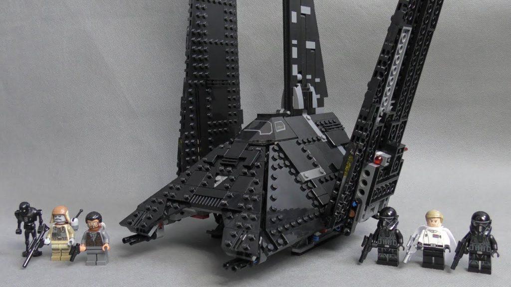 Recenzja LEGO Star Wars – Zestaw 75156 – Krennic's Imperial Shuttle / Prom Krennic ' a