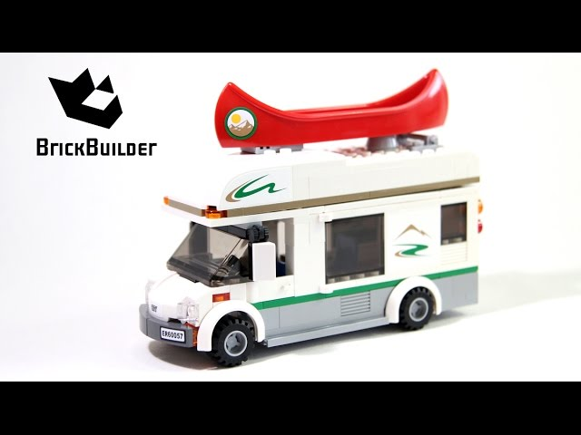 Lego City 60057 Camper Van – Lego Speed Build