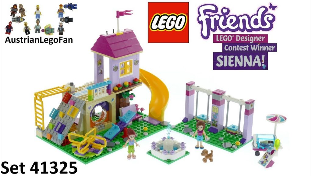 Lego Friends 41325 Heartlake City Playground – Lego Speed Build Review