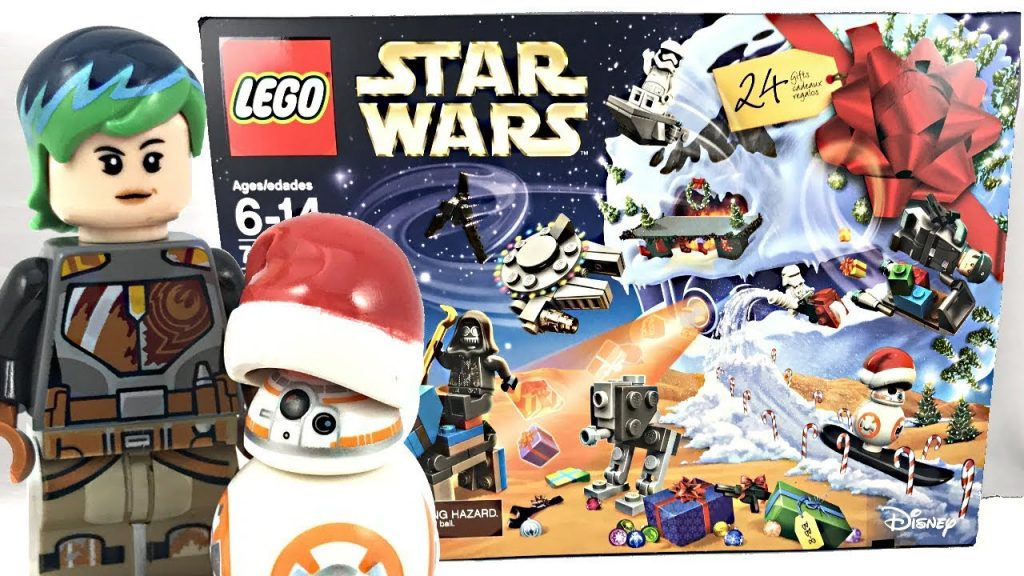 LEGO Star Wars Advent Calendar 2017 unboxing and review! 75184!