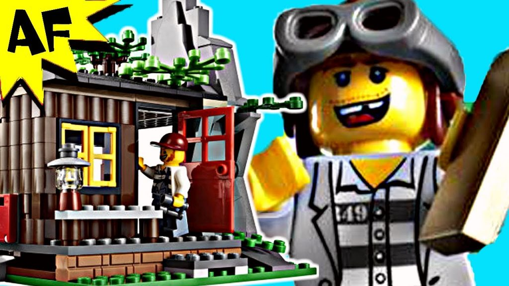 Lego City ROBBER'S HIDEOUT 4438 Stop Motion Build Review