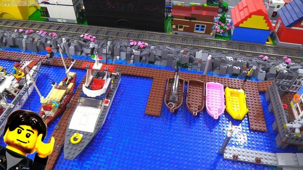 LEGO city update & Star Wars takedown talk