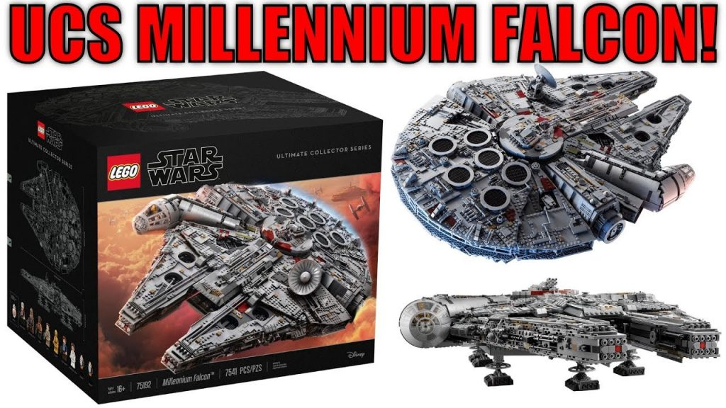 LEGO Star Wars 75192 UCS Millennium Falcon REVEALED! | MandRproductions HYPED For New LEGO UCS Set!