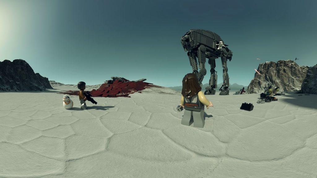 First Order Heavy Assault Walker – LEGO Star Wars – 75189 Interactive Experience 360 Video