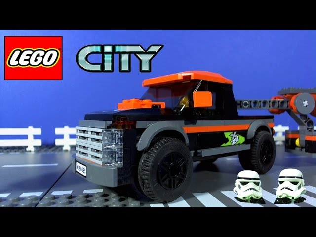 LEGO CITY 4×4 Pickup truck and Powerboat 60085