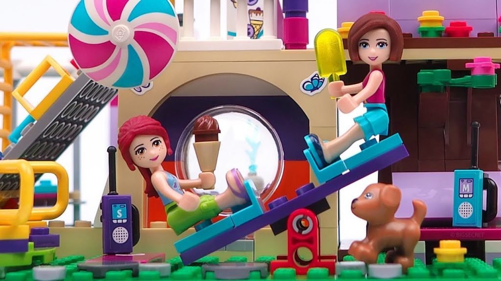 LEGO Friends Heartlake City Playground – Stop Motion & Unboxing & Magic Speed build LEGO 41325