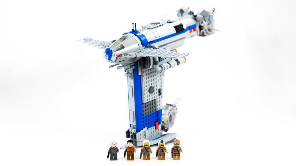 LEGO Star Wars Resistance Bomber (Timelapse & Review) – Set 75188