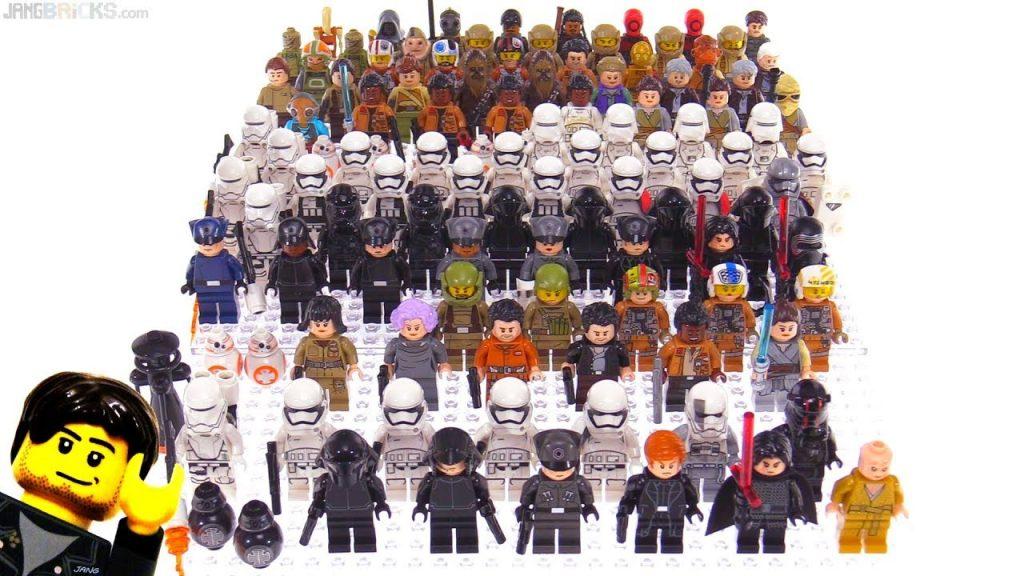 LEGO Star Wars The Last Jedi & TFA minifigs so far!