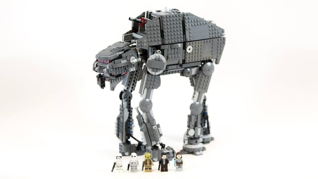 LEGO Star Wars AT-M6 First Order Heavy Assault Walker  (Timelapse & Review) – Set 75189