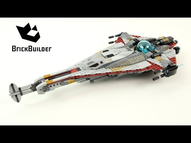 Lego Star Wars 75186 The Arrowhead   – Lego Speed Build