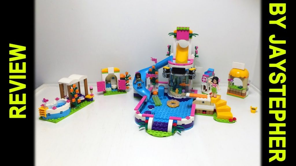 Review – Lego Friends: Heartlake Summer Pool (41313)