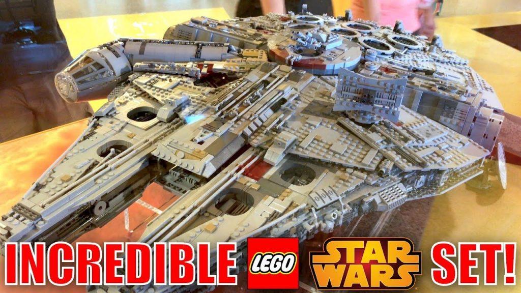 BIGGEST LEGO SET EVER! LEGO STAR WARS 75192 UCS MILLENNIUM FALCON AT THE LEGO STORE!