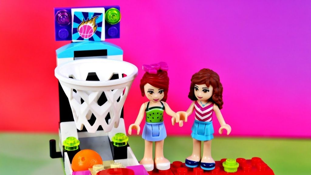 Lego Friends • Zabawa w lunaparku • Lego Creator • Bajki po polsku