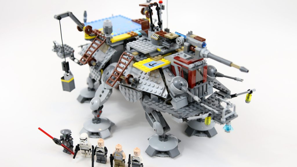 LEGO Star Wars Captain Rex's AT-TE Walker (Timelapse & Review) – Set 75157