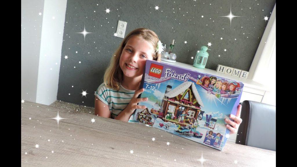 LEGO Friends Wintersport Chalet Unboxing & Bouwen Brickking.nl | Sterre XO