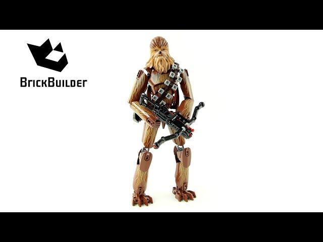 Lego Star Wars 75530 Chewbacca – Lego Speed Build
