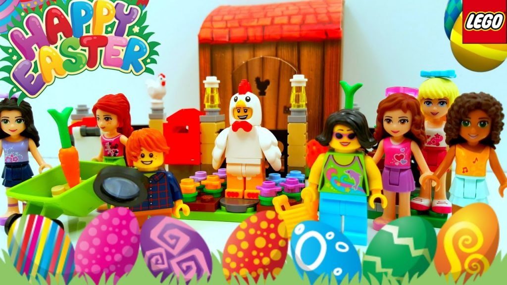Lego Easter Egg Hunt with the Lego Friends 2017 Building review 40237