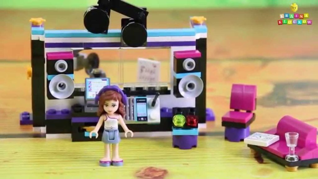Pop Star Recording Studio / Studio Nagrań Gwiazdy Pop – 41103 – Lego Friends
