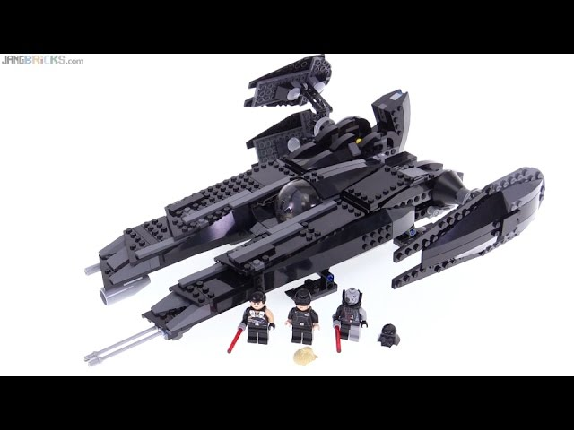 LEGO Star Wars Rogue Shadow review! 7672 (OLD, 2008, NOT NEW)