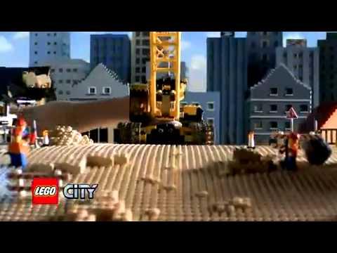 Lego City #7632 Crawler Crane Commercial