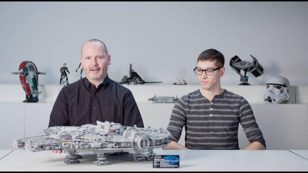 LEGO Designer Video: Millennium Falcon 2017 (Star Wars UCS Set 75192)