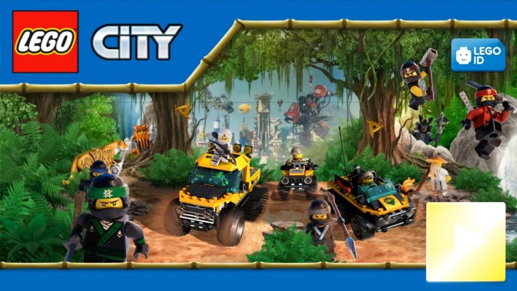 Lego City My City 2 – NINJAGO MOVIE  Update | Lego Police Chase Gameplay (iOs, Android)