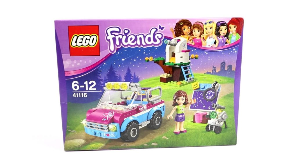 Lego Friends Olivia's Exploration Car. Lego 41116 Speed Build Kids Toy