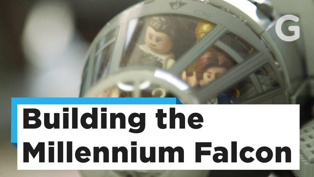 Watch Us Build Lego's Massive 7,500-Piece Millennium Falcon