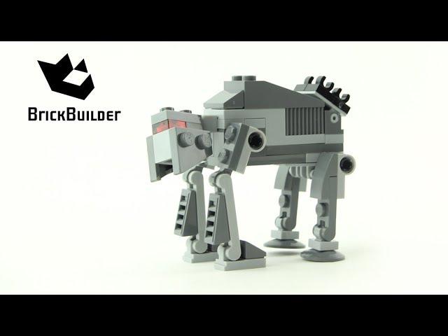 Lego Star Wars 30497 First Order Heavy Assault Walker – Lego Speed Build