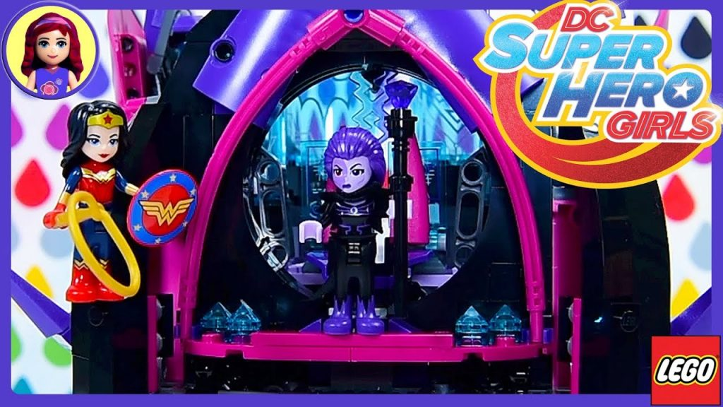 Eclipso's Dark Palace LEGO DC Superhero Girls Build Review Silly Play Kids Toys