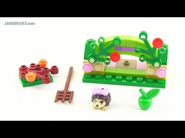 LEGO Friends Hedgehog Hideaway review, set #41020