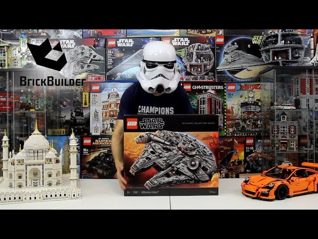 Unboxing Lego Star Wars 75192 Millenium Falcon – Lego Speed Build