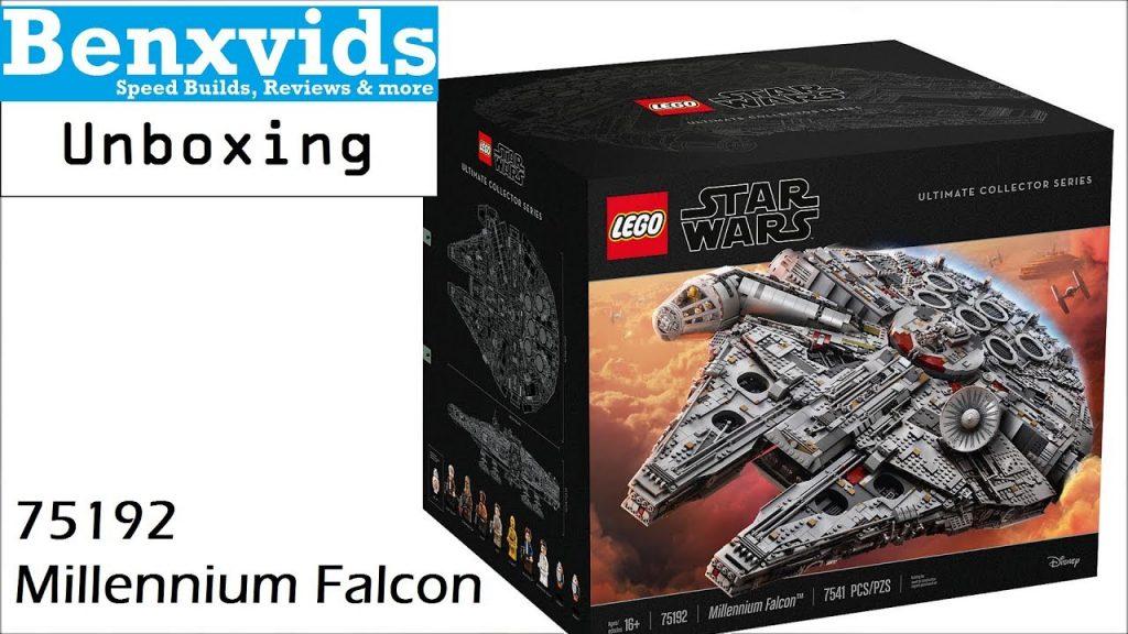 Unboxing – Lego Star Wars #75192 – UCS Millennium Falcon [2017]