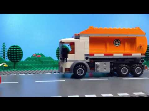 Lego City Trash Truck