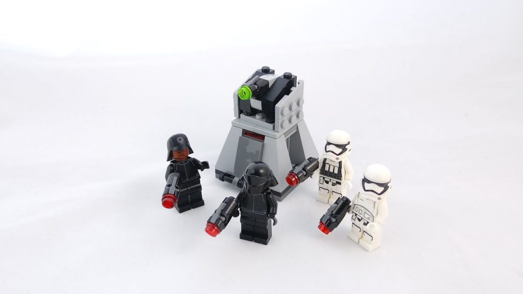 Recenzja – LEGO Star Wars 75132 First Order Battle Pack