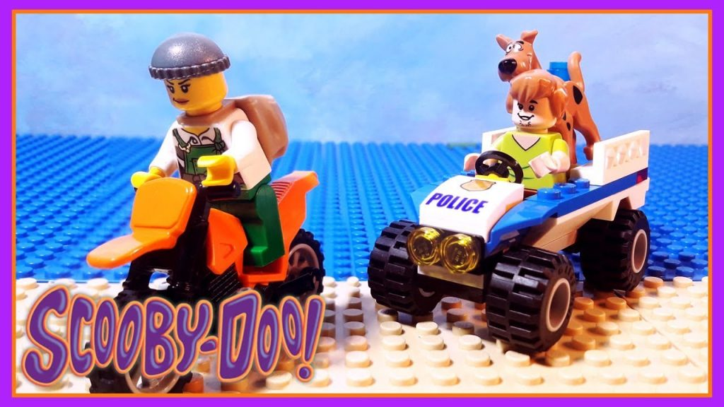 Scooby Doo Brick Building Lego City Police Car