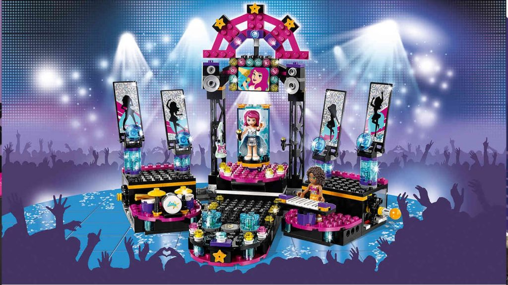 Pop Star Show Stage / Scena Gwiazdy Pop – Lego Friends – 41105 -MegaDyskont.pl
