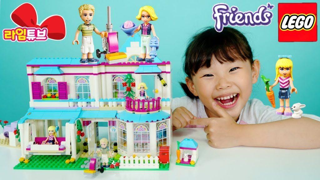 레고프렌즈 41314 스테파니의 집 레고 블럭 만들기 장난감 놀이Lego Friends   LimeTube & Toy 라임튜브