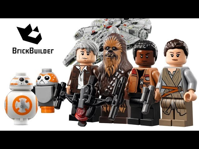 All Minifigures from Lego Star Wars 75192 Millennium Falcon – Brick Builder