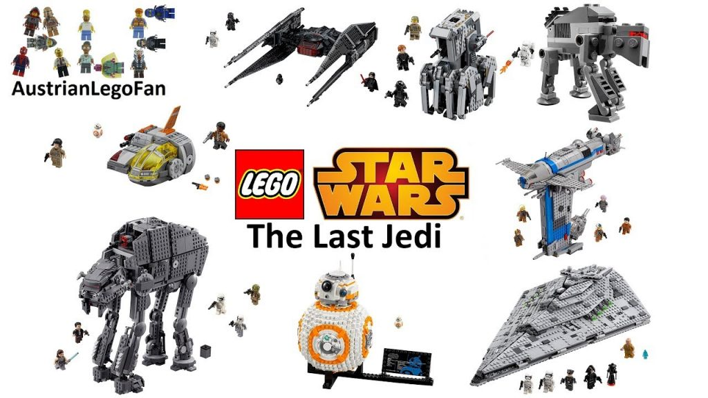 All Lego Star Wars The Last Jedi Sets so far – Lego Speed Build Review