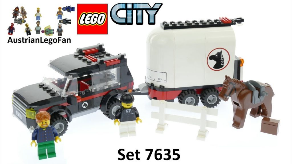 Lego City 7635 4WD with Horse Trailer – Lego Speed Build Review