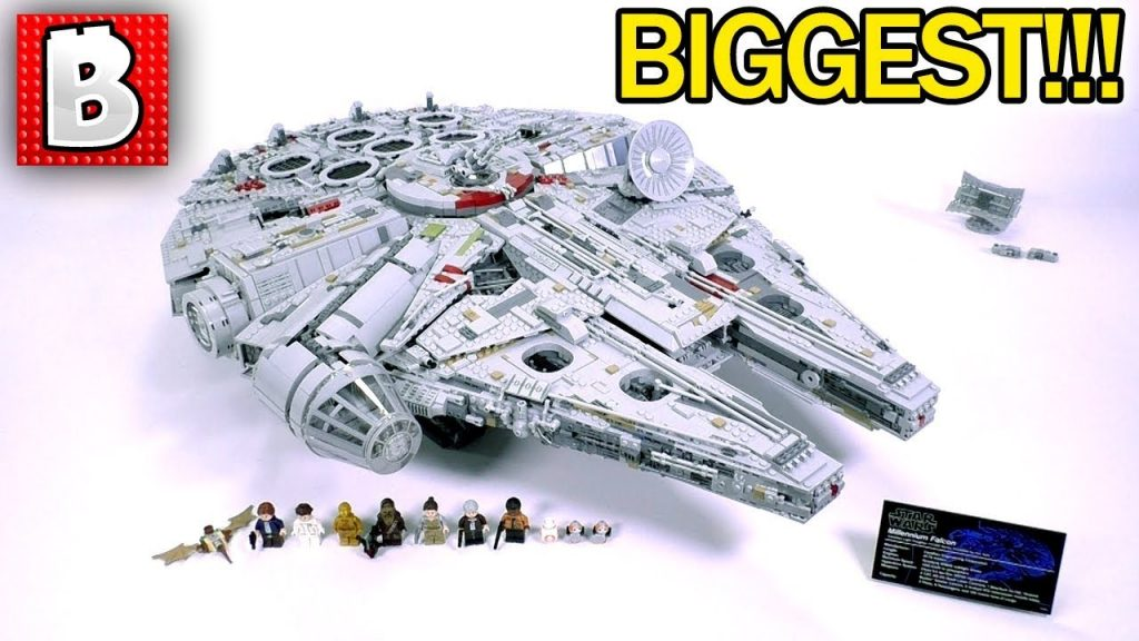 LEGO 75192 Millennium Falcon 2017 Ultimate Collector Series Review! BIGGEST SET EVER MADE!!!