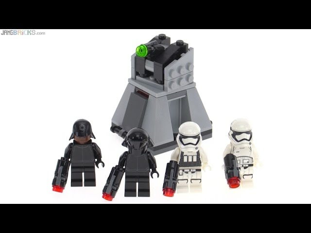 LEGO Star Wars First Order Battle Pack review! set 75132