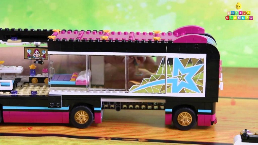 Pop Star Tour Bus / Wóz koncertowy – 41106 – Lego Friends