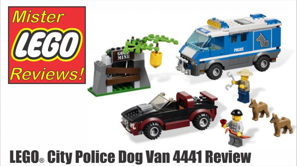 Lego City Police Dog Van 4441 Review