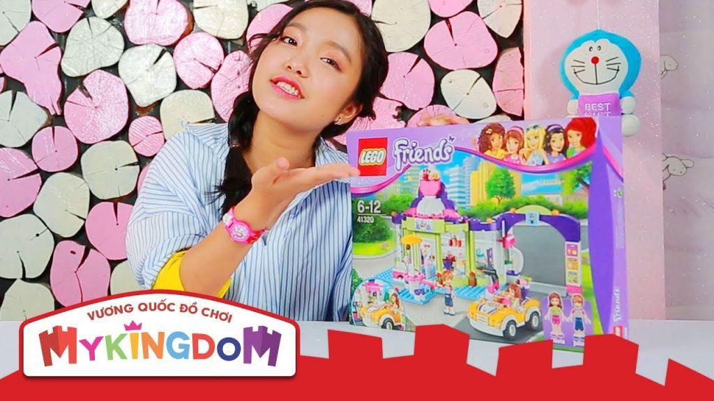 Lắp ráp LEGO FRIENDS | Bữa Tiệc Bãi Biển 41320 – Cửa Hàng Yogurt Heartlake