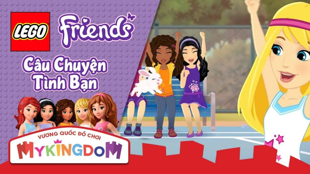 LEGO FRIENDS – Câu Chuyện Tình Bạn | Tập phim : Trận Đấu Gia Đình